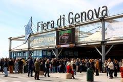 2009条鱼热那亚慢的意大利 库存照片