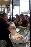 2009条鱼热那亚慢的意大利 免版税库存图片