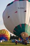 2009气球热节日的gatineau 库存图片
