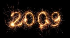 2009火焰 免版税库存照片