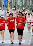 2009第25个海滩长的马拉松 免版税库存照片