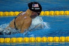 2009第25贝尔格莱德游泳universiade 库存照片