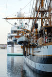 2009经典之作motoryacht 免版税库存照片