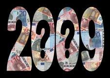 2009经济不确定性 免版税图库摄影