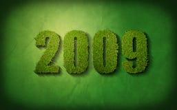 2009绿色 向量例证