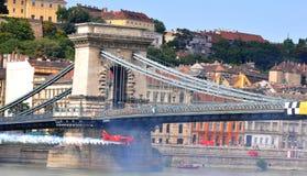 2009航空布达佩斯公牛合格的种族红色&#2279 免版税图库摄影