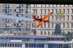 2009航空布达佩斯公牛合格的种族红色&#2279 免版税库存图片