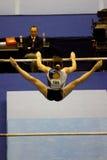 2009艺术性的冠军欧洲体操 免版税库存照片