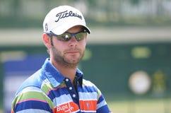 2009英国法国高尔夫球开放保罗留神 库存图片