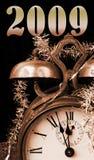 2009问候新年度 免版税库存照片