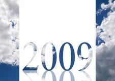 2009 år Royaltyfri Fotografi