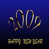 2009 καλή χρονιά στοκ εικόνα
