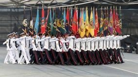 2009 χρώματα που βαδίζουν ndp τ&omicron Στοκ Φωτογραφία
