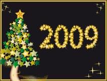 2009 Новый Год Стоковая Фотография RF