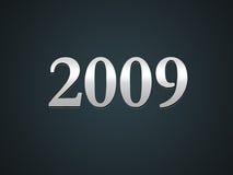2009 Новый Год Стоковое Фото