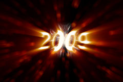 2009 счастливых Новый Год Стоковые Изображения RF