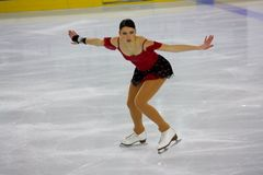 2009 чемпионатов вычисляют итальянский общий кататься на коньках Стоковые Фотографии RF
