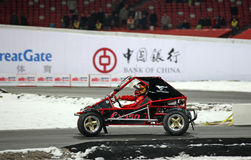 2009年北京拥护种族 免版税库存照片