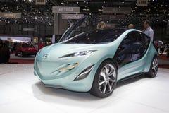 2009年日内瓦kiyora mazda开汽车还原显示 图库摄影