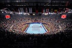 2009年瓷开放网球比赛 免版税库存照片