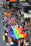 2009年香港游行自豪感 库存图片