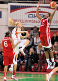 2009 2010年篮球euroleague teo ummc与妇女 免版税库存照片