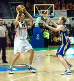 2009 2010 euroleaguekvinnor Royaltyfri Bild