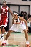 2009 2010 ummc för basketeuroleagueteo vs kvinnor Royaltyfria Bilder