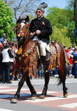 2009 26th Kwiecień brasov miasta dzień juni parada Obrazy Stock