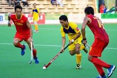 2009 3èmes hommes d'hockey de cuvette de l'Asie plaçant s Photographie stock libre de droits