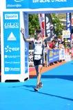 2009 4-ый triathlon huez edf alpe d Стоковая Фотография RF