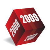 2009. New year 2009 3d creation vector illustration
