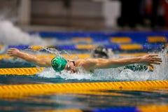 заплывание 2009 чемпионата Стоковое фото RF
