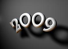 2009 años Foto de archivo libre de regalías