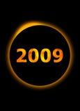 2009 Años Nuevos Fotografía de archivo libre de regalías