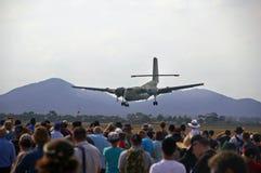 2009 airshow avalon lądowania samolot Zdjęcie Stock