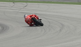 2009 American Nicky Hayden of Ducati Marlboro Team Stock Photography