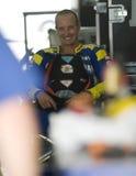 2009 americano Colin Edwards da tecnologia 3 Yamaha Imagens de Stock Royalty Free