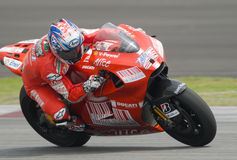 2009 americano Nicky Hayden da equipe de Ducati Marlboro Foto de Stock