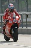 2009 americano Nicky Hayden de las personas de Ducati Marlboro Imagen de archivo libre de regalías
