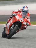 2009 americano Nicky Hayden della squadra di Ducati Marlboro Fotografia Stock Libera da Diritti