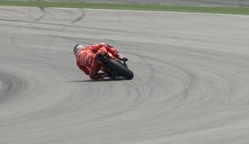 2009 Amerikaanse Nicky Hayden van het Team van Ducati Marlboro Stock Fotografie