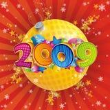 2009 anni illustrazione vettoriale