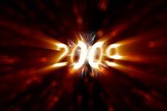 2009 ans neufs heureux Images libres de droits