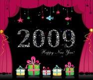 2009 ans neufs heureux