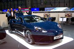 2009 artega auto Geneva salon Zdjęcie Stock