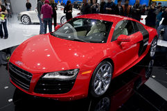 2009 Audi R8 - front angle Royalty Free Stock Image