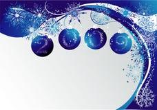 2009 błękitny bożych narodzeń ilustracja wektor
