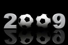 2009 ball soccer Στοκ φωτογραφία με δικαίωμα ελεύθερης χρήσης