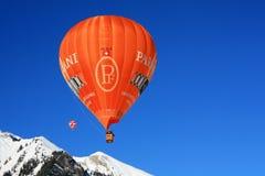 2009 balonów górskiej chaty d festiwalu oex Fotografia Stock